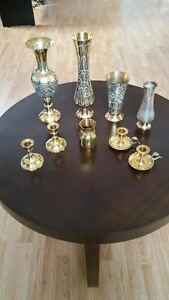 Collection of Vases and Candlesticks