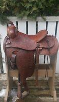 Western Roping Saddle
