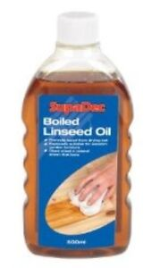 Supadec Boiled Linseed Oil For Wood Treatment French Polishing Lubricant 500ml