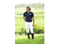Hampton and Harlow Equestrian White Polo Jeans