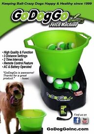Go Dog Go Automatic Ball Fetch Machine for Dogs