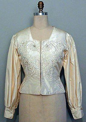Adult Milkmaid (Folkwear Bolivian Milkmaid's Jacket in Spanish Style 8-22 Sewing Pattern)