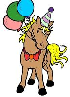 Pony rides for children's birthday parties or events !
