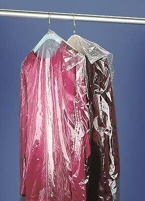 CLEAR POLY GARMENT BAGS .6Mil Thickness New Dry Cleaning Laundry Suits & Dresses