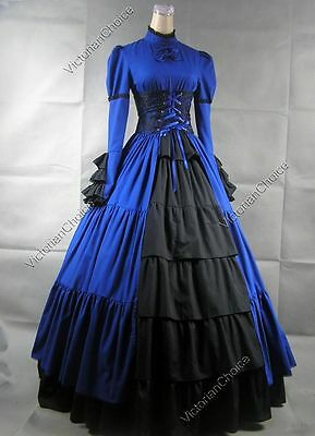Medieval Gothic Renaissance Wench Corset Dress Ball Gown Steampunk Clothing 068 - Renaissance Medieval Clothing