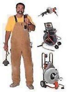 24/7 plombier debouchage/plombier unblocking drain 438-765-2403