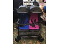 Joie double pram and another!