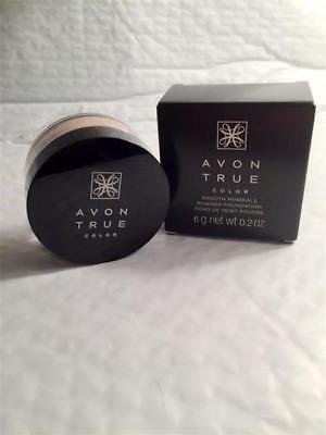Smooth Mineral Foundation (Light Beige -Avon Smooth Minerals Powder Foundation Boxed Retail)
