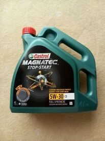 NEW Castrol MAGNATEC engine oil,
