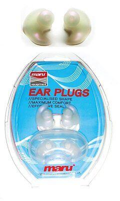 Maru Ear Plugs Silicone  Clear