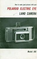 Werbung Polaroid Electric Eye Land Camera Model J66 - polar - ebay.it
