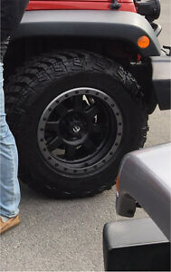 Goodyear Wrangler Mtr with kevlar and fuel one piece trophy rims