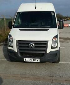 Vw crafter lwb with high roof