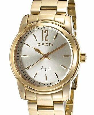 Invicta 17420 Womens Angel Analog Display Swiss Quartz Gold Watch
