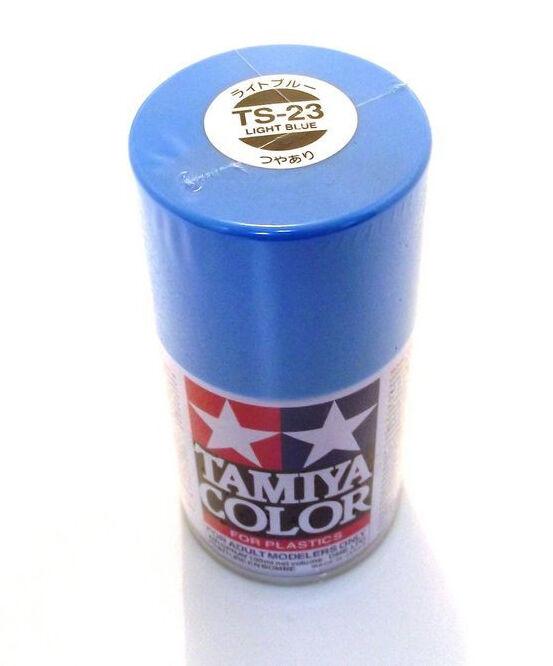 85023 Spray Lacquer TS23 Light Blue 3 oz Multi-Colored