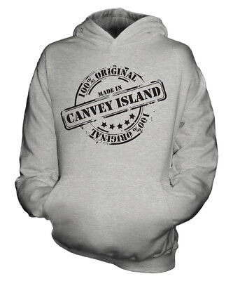 - MADE IN CANVEY ISLAND UNISEX KIDS HOODIE BOYS GIRLS CHILDREN GIFT CHRISTMAS