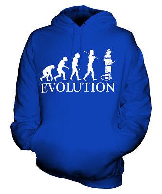 FEUERWEHRMANN EVOLUTION DES MENSCHEN UNISEX KAPUZENPULLOVER HOODIE HERREN DAMEN ()