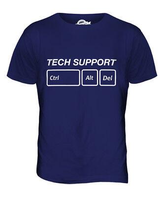 TECH SUPPORT CTRL ALT DEL MENS T-SHIRT TEE TOP GIFTGEEK COMPUTER Mens Tech Support