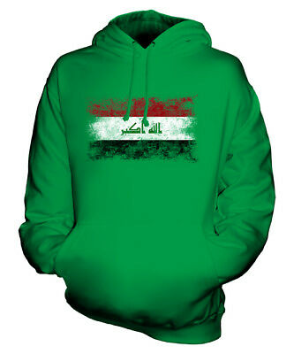 IRAK WEINLESE FLAGGE UNISEX KAPUZENPULLOVER HOODIE PULLI HOODY HERREN DAMEN