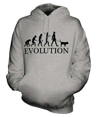 BEAGLE EVOLUTION OF MAN UNISEX HOODIE MENS WOMENS LADIES DOG LOVER ENGLISH GIFT Beagle Dogs Mens Hoodie
