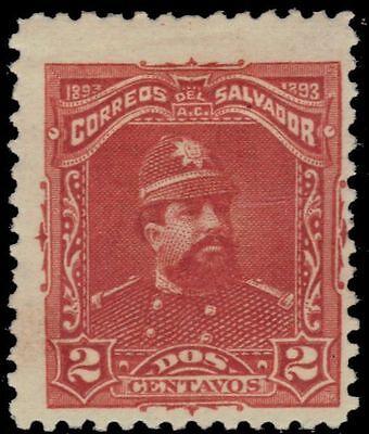 EL SALVADOR 77 (Mi63) - President Carlos Ezeta (pa29785)