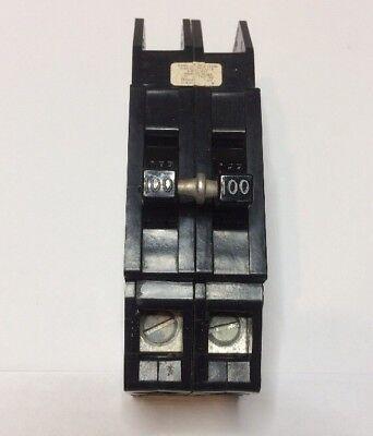 Main Circuit Breaker Zinsco Challenger 100 Amp 2 Pole 120240v