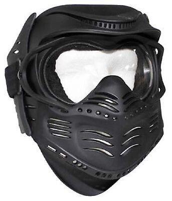 Fight Face Mask Gesichtsschutz Maske black schwarz Paintball Gotcha