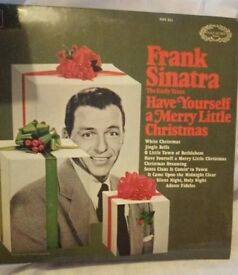Frank Sinatra Have Yourself a Merry Little Christmas LP