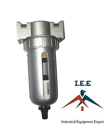 12 Particulate Filter Water Trap Seperator Moisture Compressed Air Auto Drain