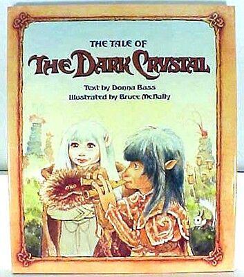 1982 Tale of the DARK CRYSTAL Illustrated Hardcover Book- UNREAD- WAREHOUSE (Warehouse Dark)