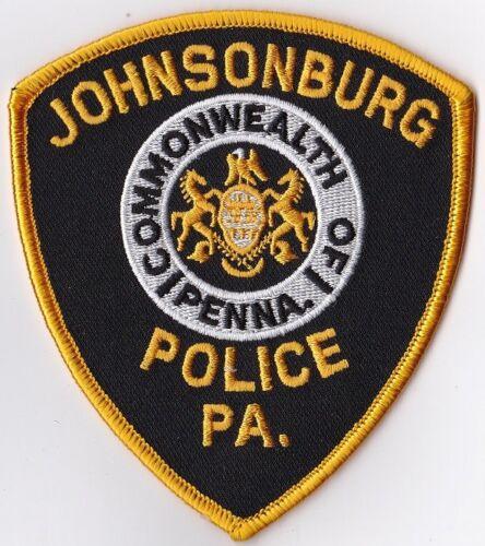 Johnsonburg Police Patch Pennsylvania PA