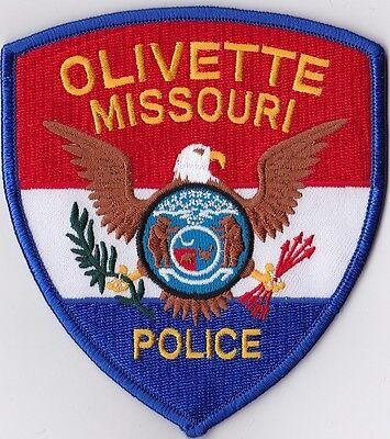 Olivette Police Patch Missouri MO NEW !!!