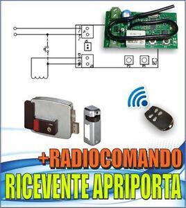 Ricevente per elettroserratura serratura elettrica - Serratura elettronica porta blindata ...