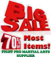 SAVE UPTO 70% OFF ON MARTIAL ARTS, BOXING, JUDO,MMA SUPPLIES