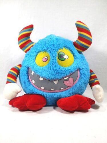 "Blue Monster 17"" Plush Kids Of America Corp 2010"