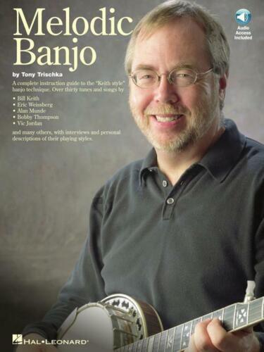 Melodic Banjo Sheet Music Book and Audio NEW 014021162