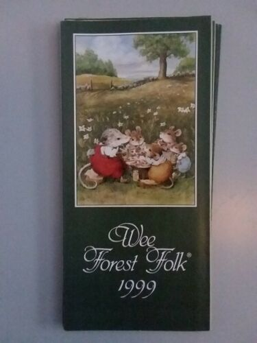 WEE FOREST FOLK BROCHURE / CATALOG / PAMPHLET - 1999