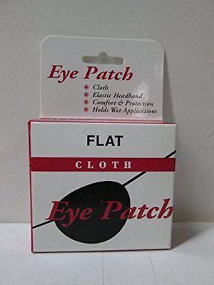 Eye Patch Flat Cloth, Large - 1 Ea (3 Pack) (Flat Eye Patch)