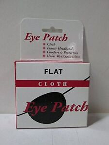 Eye Patch Flat Cloth, Large - 1 Ea (3 Pack)