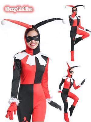 Batman Arkham Asylum City Knight Harley Quinn Halloween Costume