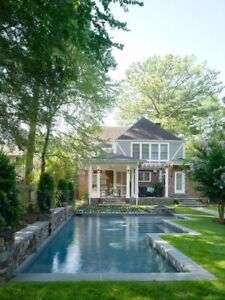Home with pool or large lot