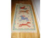 Hardly used rug