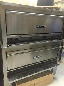 Like New Zesto Stacking Pizza Deck Ovens