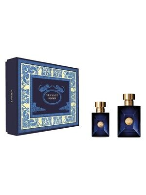 VERSACE POUR HOMME DYLAN BLUE 30ML EDT + 100ML EDT BRAND NEW & BOXED GIFT SET