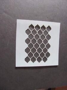 Moroccan Tile Mylar Stencil  L24 Made in USA