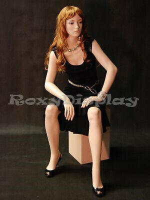 Fiberglass Female Mannequin Fleshtone Color Dress Form Display Md-a5f1