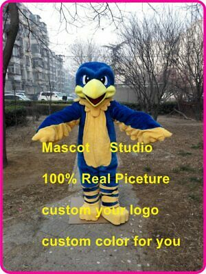 Hawk Mascot Costume Cosplay Party Animal Fancy Dress Outfit Advertising Adults](Hawk Costume)