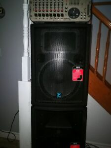 Complete Professional Audio System For Dj's, Musicians/Bands