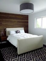 Wood Accent Walls Installed!-40%off