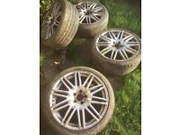 Audi, BMW, MERC Alloy wheels